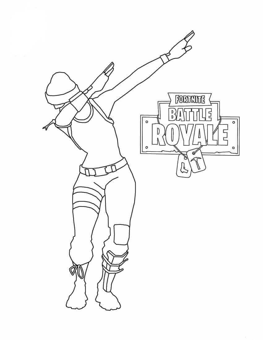 Fortnite Coloring Pictures Headhunter