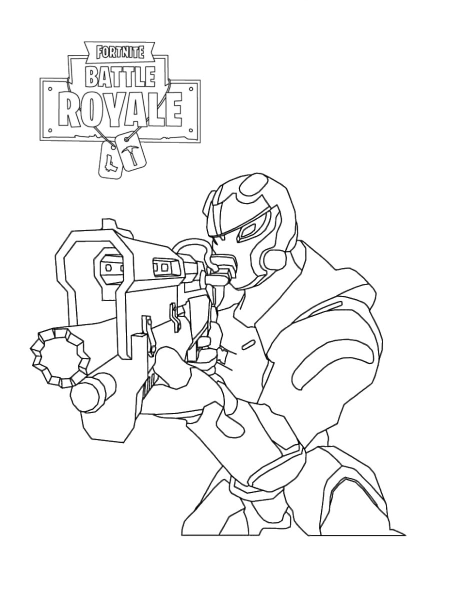 30 free printable fortnite coloring pages