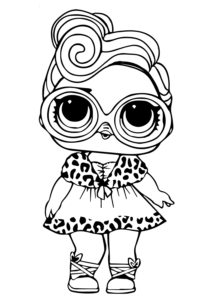 Free Printable Lol Doll Coloring Pictures Dollface