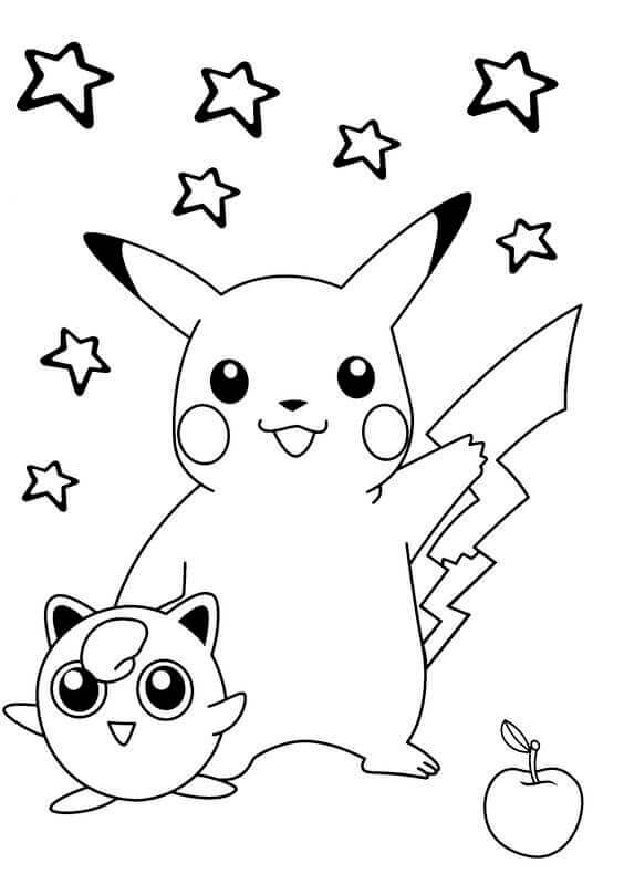 Free Printable Pikachu Pictures