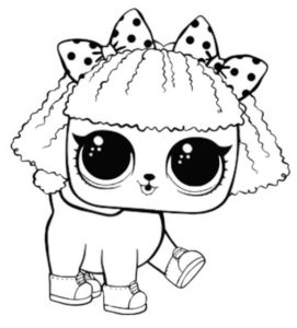LOL Pets Coloring Pages Printable Pupsta