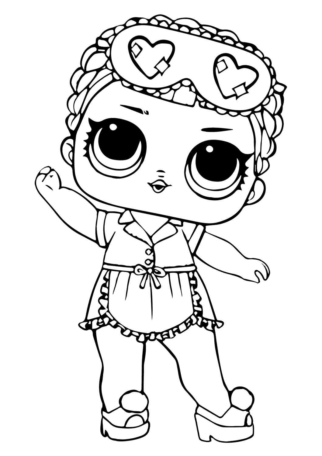 30 Free Printable Lol Surprise Doll Coloring Pages ...