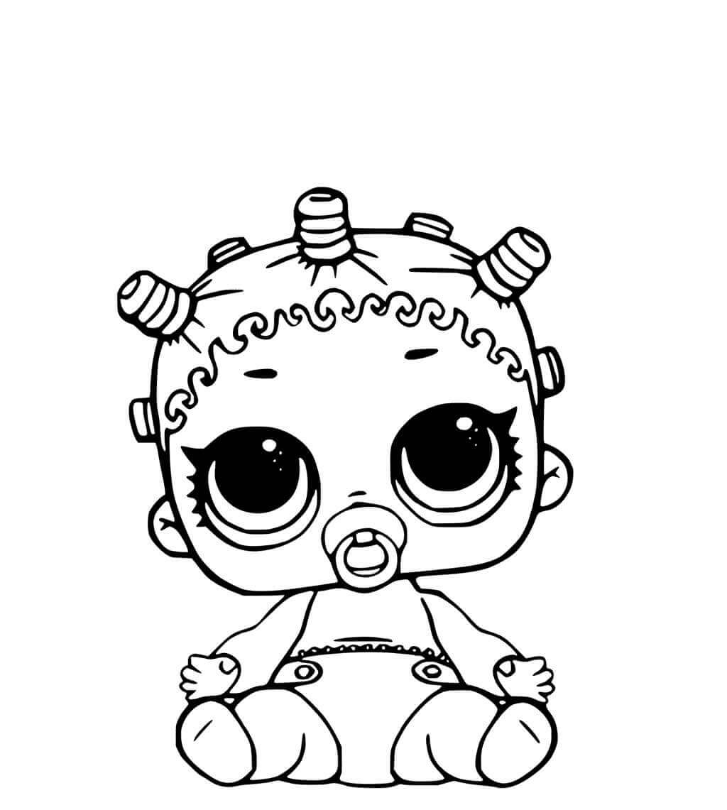 Free printable lol surprise doll coloring pages coloring junction jpg 1024x1141 coloring pages lol surprise roker