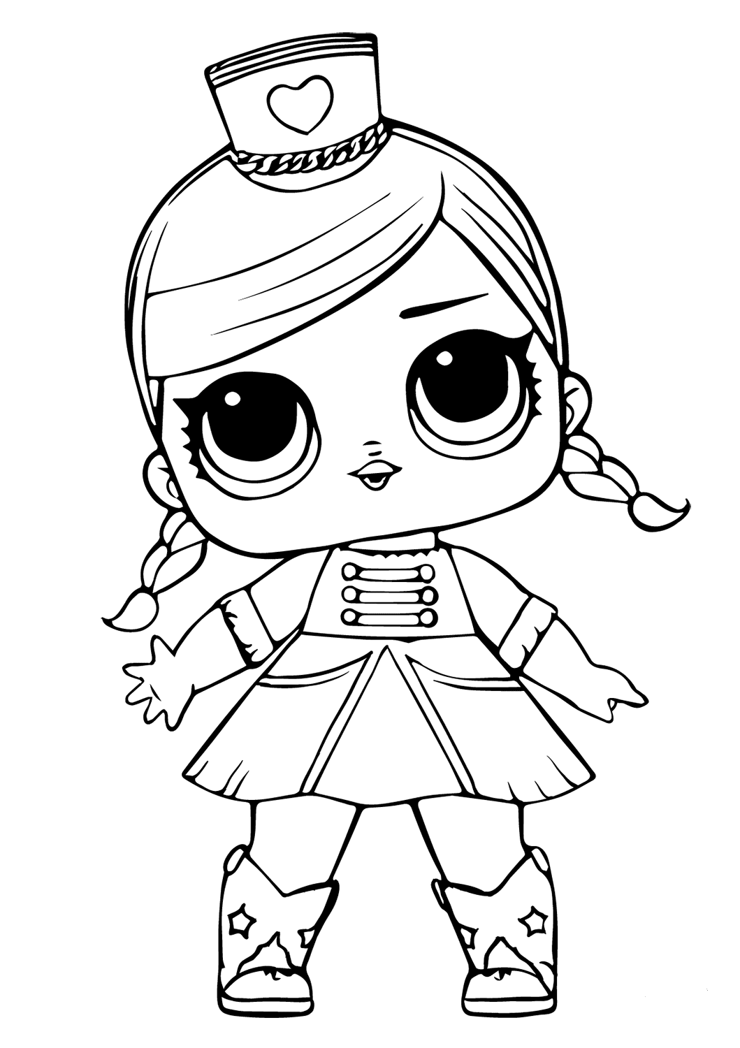 lol surprise doll coloring pages coconut q t