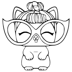Lol Pets Coloring Sheets Printable