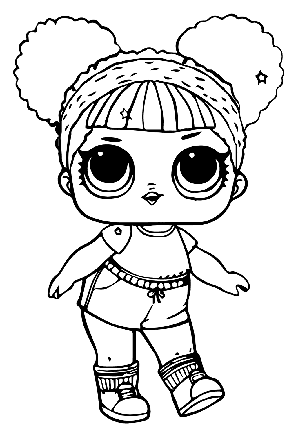 30 Free Printable Lol Surprise Doll Coloring Pages - Coloring Junction