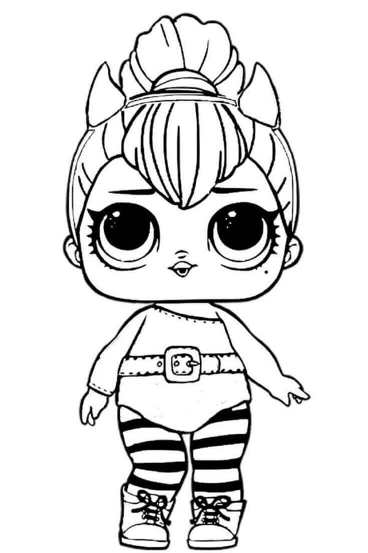 - 30 Free Printable Lol Surprise Doll Coloring Pages - Coloring Junction