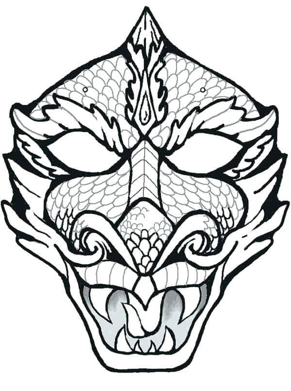 Tiki Coloring Pictures