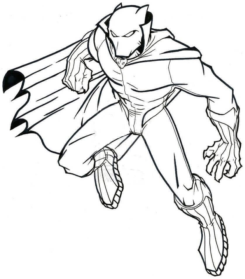 Wakanda Coloring Pages