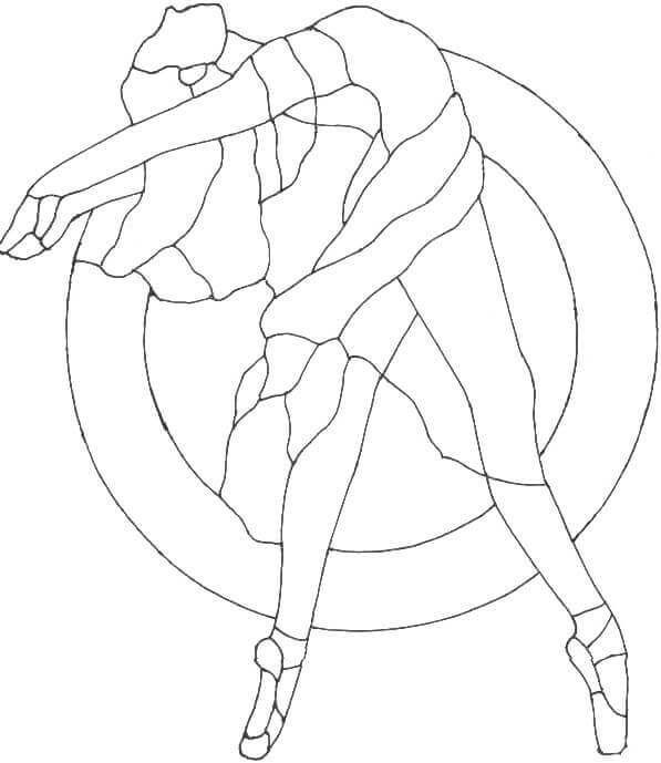 Ballerina Coloring Images For Kids