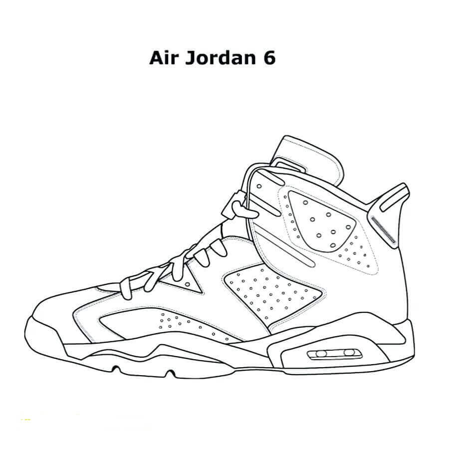- Free Jordan Coloring Pages Printable - Coloring Junction