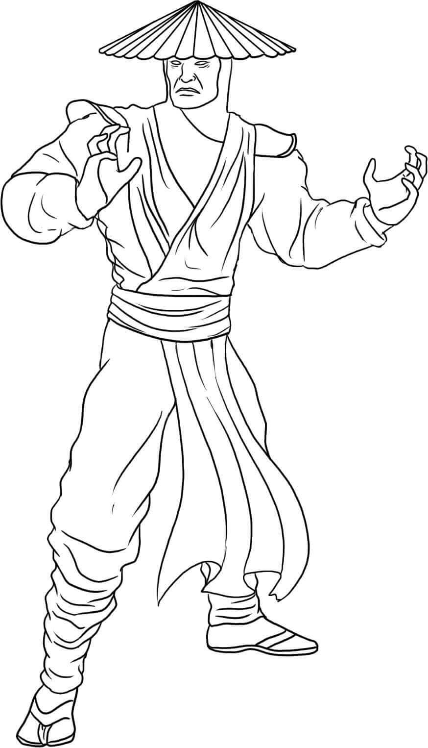 25 Free Mortal Kombat Coloring Pages Printable Coloring Junction