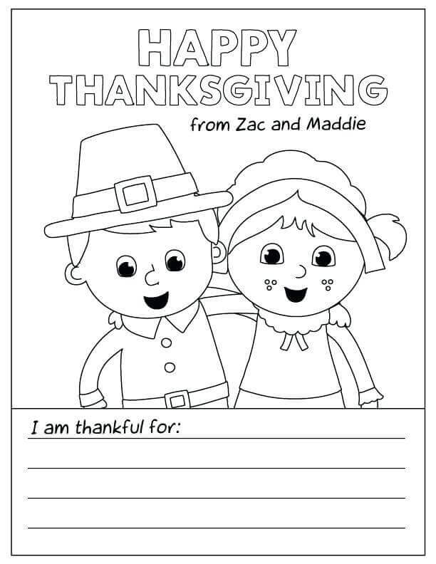 Happy Thanksgiving Activity Sheets