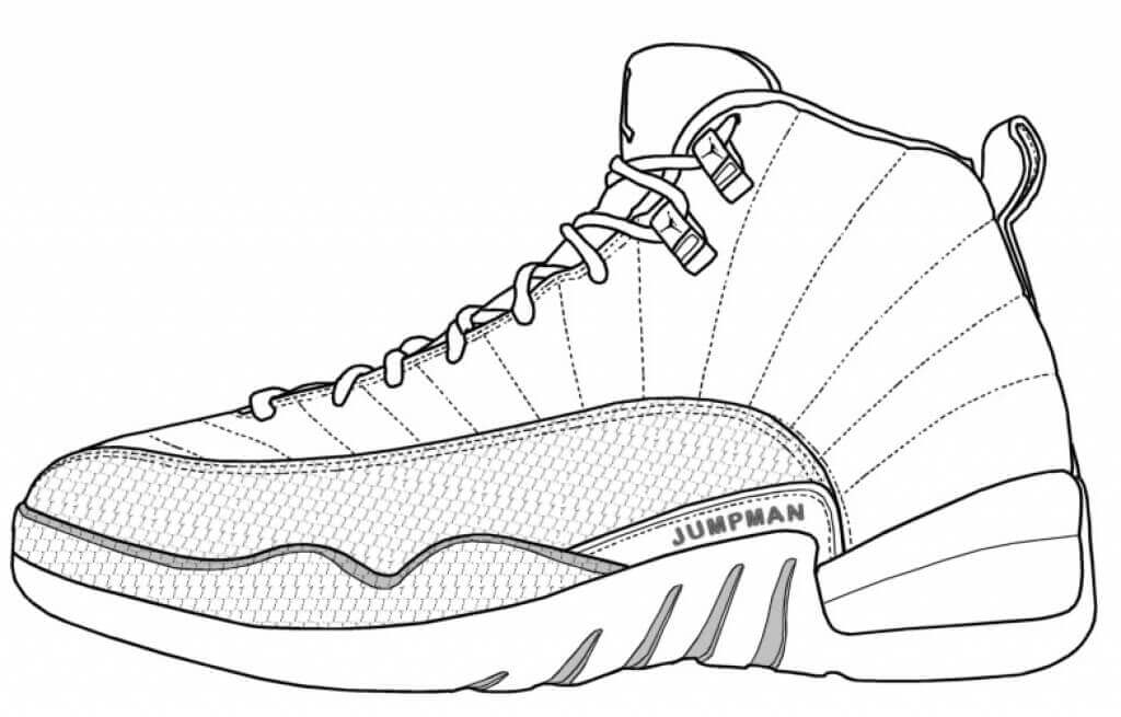 Free Jordan Coloring Pages Printable – Coloring Junction