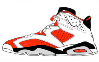 Jordan Shoes Clipart