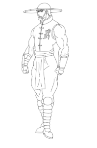 Mortal Kombat Coloring Pages PDF