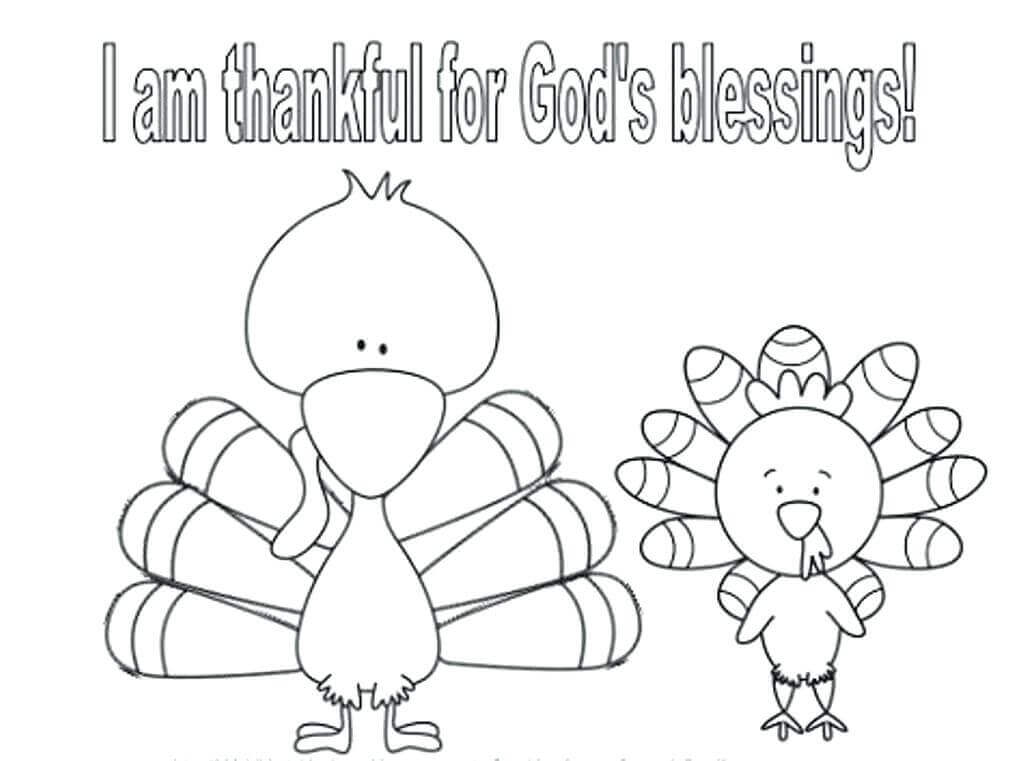 Thanksgiving 2018 Coloring Pages For Kids