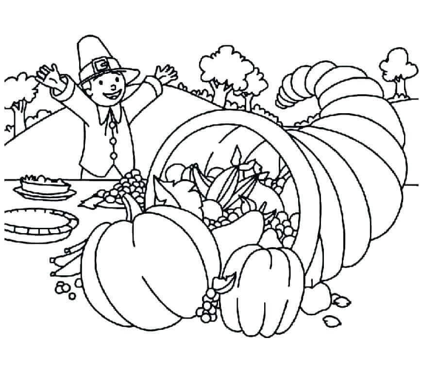 Thanksgiving 2018 Coloring Sheets Printable