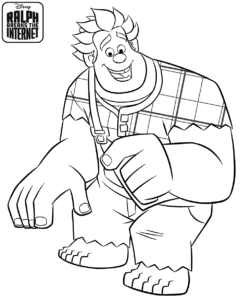 Wreck It Ralph 2 Coloring Pages