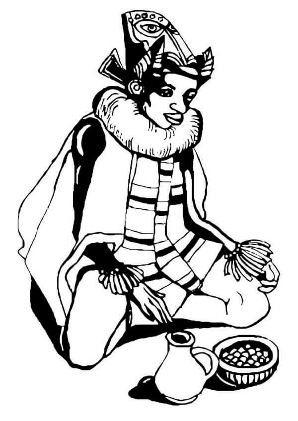 7 Days Of Kwanzaa Coloring Pages