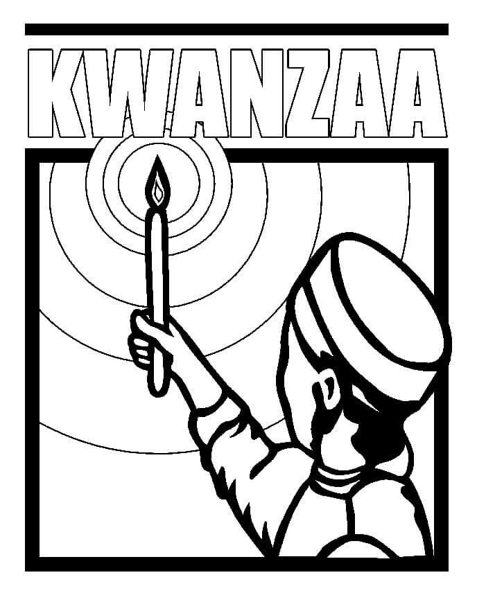 Free Printable Kwanzaa Coloring Pages