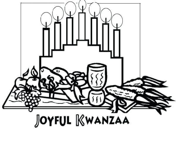Joyful Kwanzaa Coloring Pictures To Print