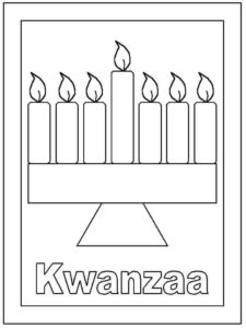 Kwanzaa Coloring Pages For Preschoolers