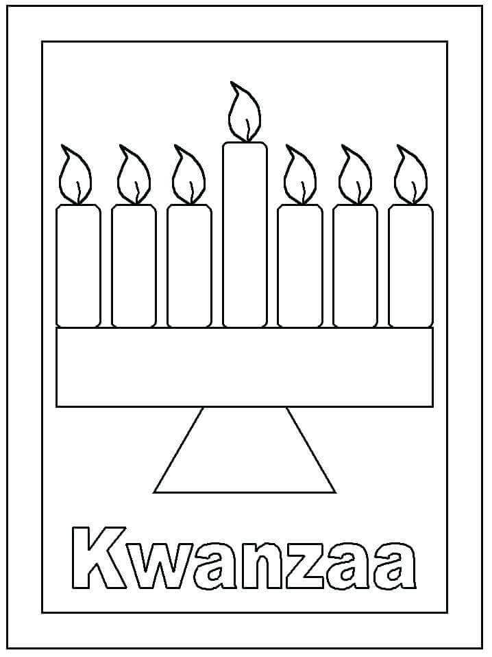 42 Free Kwanzaa Coloring Pages Printable - Coloring Junction