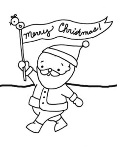 Merry Christmas Coloring Images