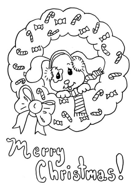 Merry Christmas Coloring Pages Printable Free