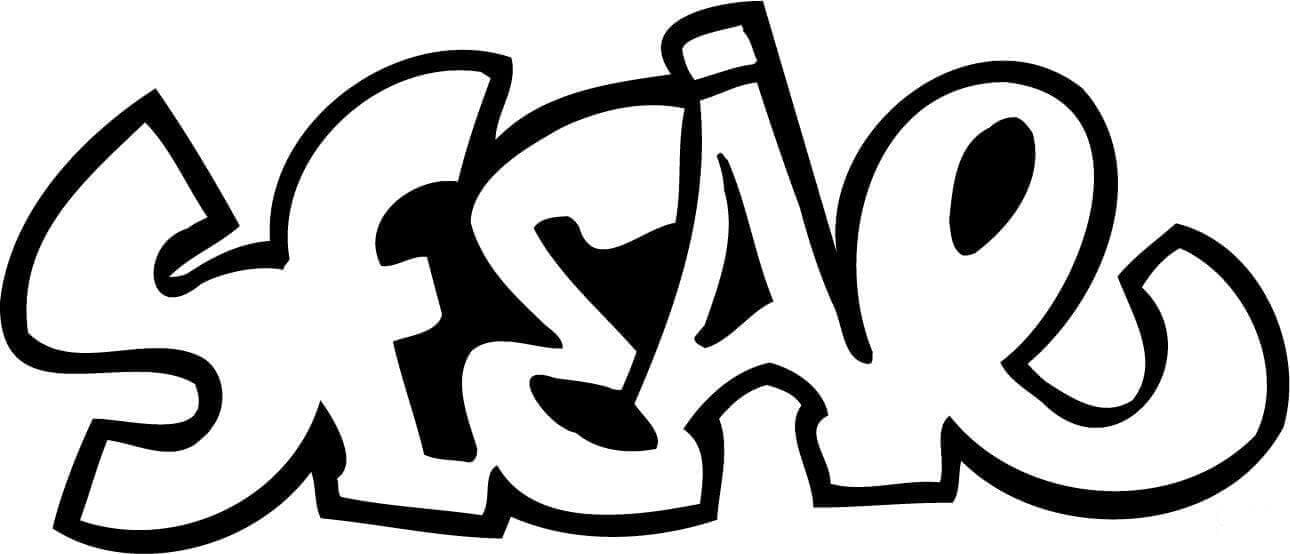 Free Printable Graffiti Coloring Sheets