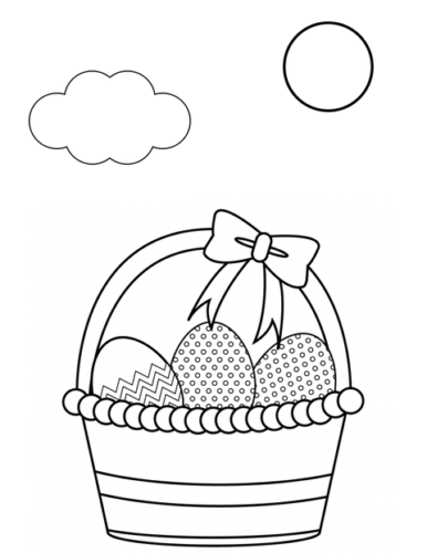 Best Easter Coloring Pages for Kids