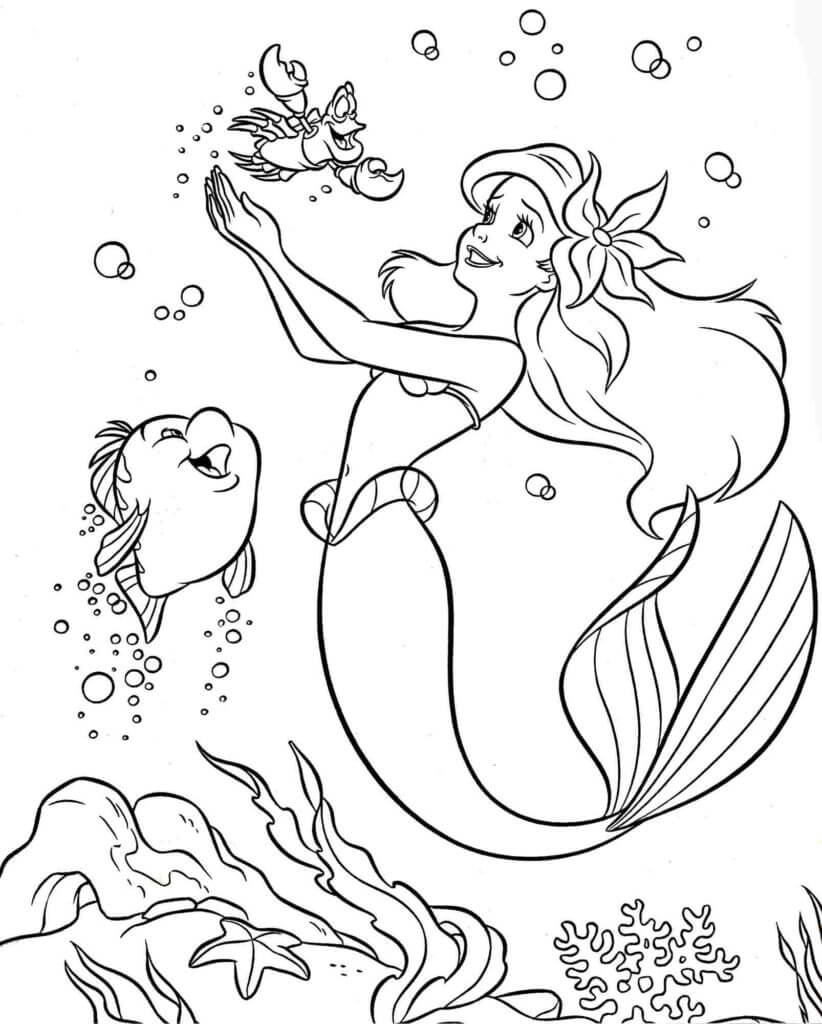 Coloring Pages Princess Disney