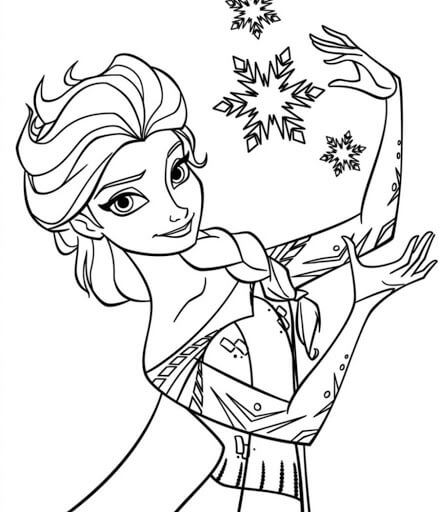 Cute Disney Princess Coloring Pages For Kids