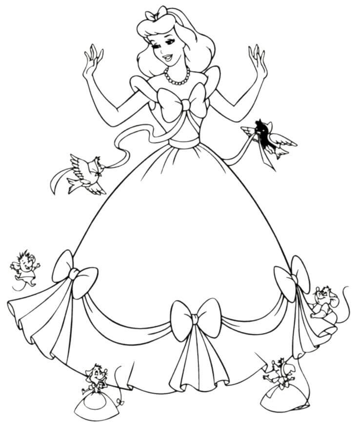 Disney Princess Coloring Pages Free To Print