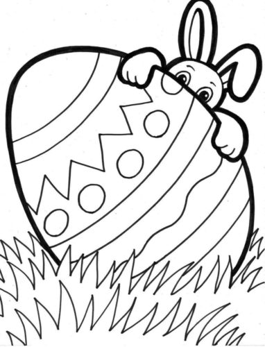 Easter Coloring Pages Activities